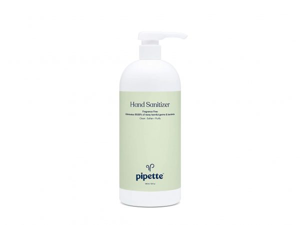 Helping Hands: Pipette's Sustainable Hand Sanitizer.